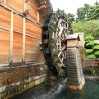 Wooden waterwheel - Foto Stock