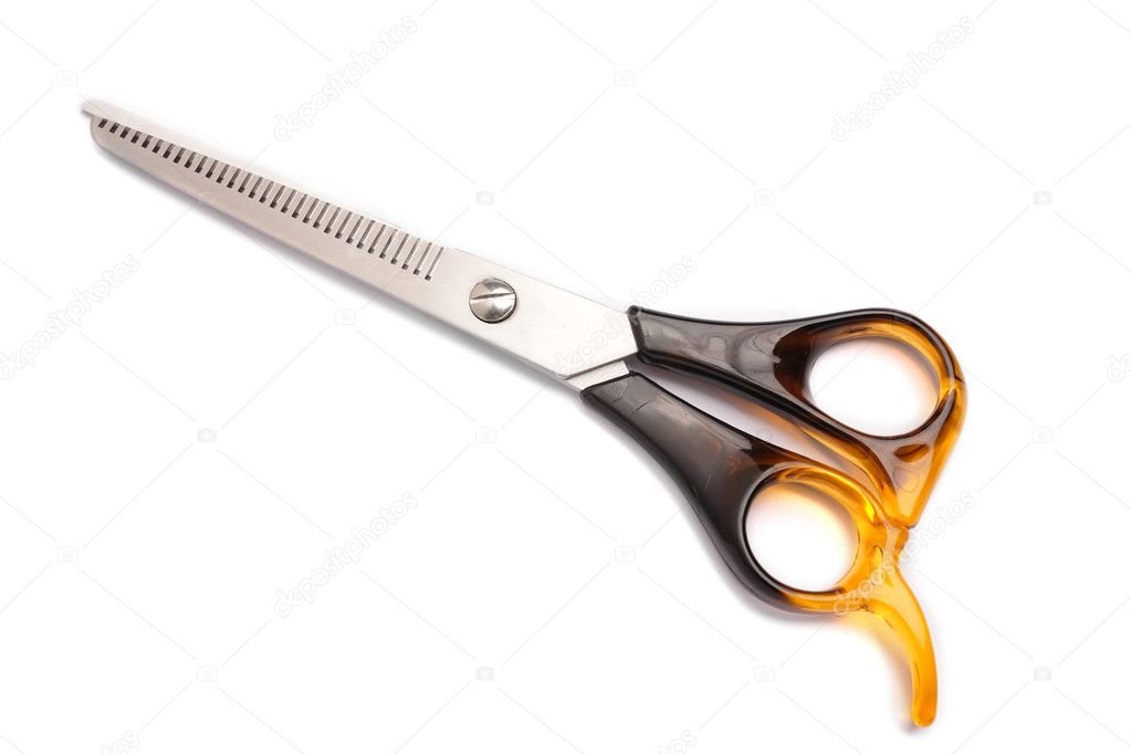 how to cut with scissors hair