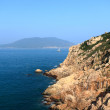 Shek o coast in Hong Kong — Stock Photo