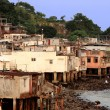 Stock Photo: Fishing village of Lei Yue Mun
