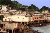 Fishing village of Lei Yue Mun — Stock Photo
