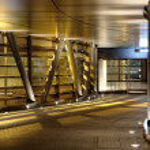 Modern corridor — Stock Photo