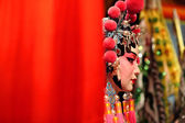 Cantonese opera dummy with text space — Foto de Stock