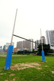Rugby goalposts — Stock Photo
