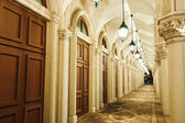 Corridor, italian building style — Zdjęcie stockowe