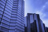 Kontor skyskrapa — Stockfoto