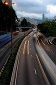 Flou de mouvement de trafic — Photo