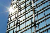Modern business building exterior — Stock Photo