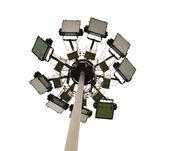 体育场灯杆 — 图库照片
