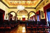 Luxury meeting hall — Stock Photo