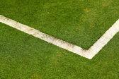 Linha do campo de futebol — Foto Stock