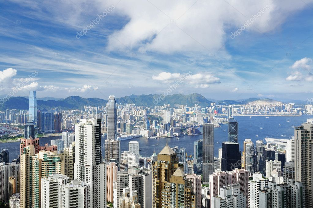 Hong Kong — Stock Photo #3445147