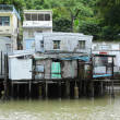 Tai O fishing village with stilt-house in Hong Kong — Stock Photo