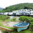 Stock Photo: Tai O fishing village with stilt-house in Hong Kong