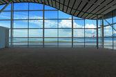 Sala de espera no aeroporto — Fotografia Stock