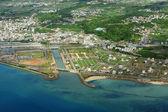 Aerial photo of okinawa japan — Stock Photo