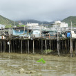tai o fishing village — Stock Photo
