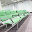 Waiting hall in airport — Stock Photo
