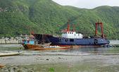 Nave di pesca — Foto Stock