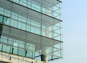 Glass wall of building — Stock Photo