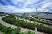 Tsing Ma Bridge — Fotografia Stock