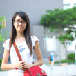 College student at campus — Foto Stock #3797301