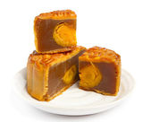 Moon cake for chinese mid autumn festival — Stockfoto