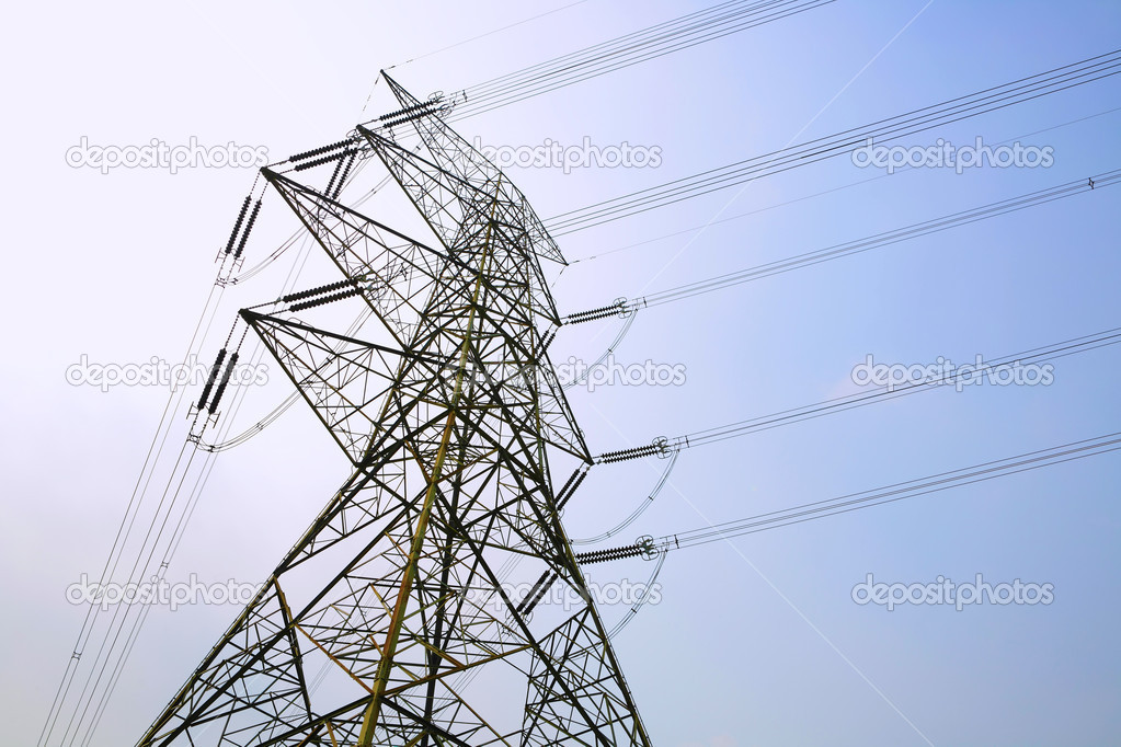 Power line — Stock Photo #3807665