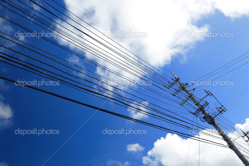 Power line — Stock Photo #3835521