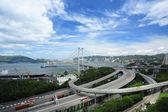 Tsing Ma Bridge — Stock Photo