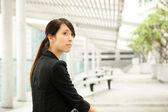 Asya iş kadını — Stok fotoğraf