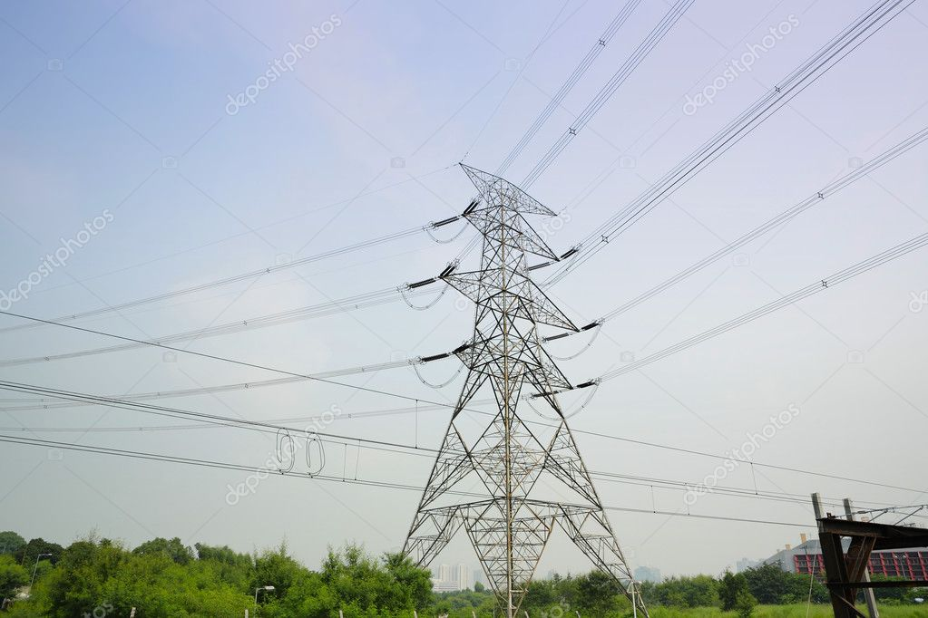 Power line — Stock Photo #3844291