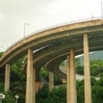Megacity highway — Stock Photo
