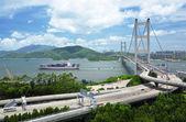 Tsing ma bridge — Stock fotografie