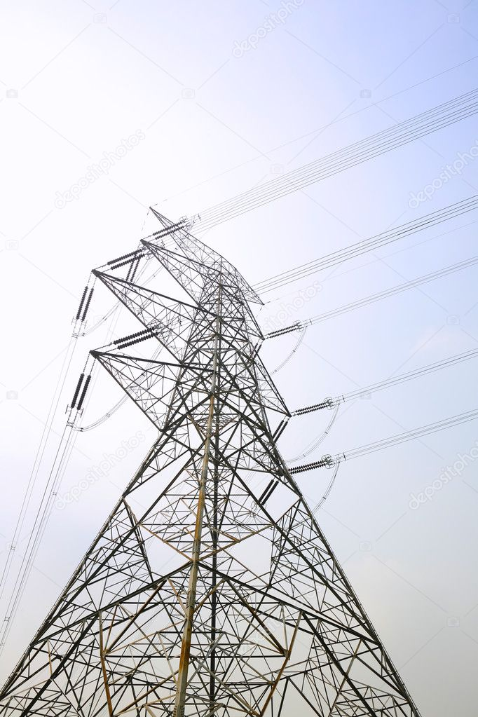Power line — Stock Photo #3855520