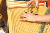 Latvian musical instrument — Stock Photo