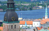Riga. A kind on the castle — Stock Photo
