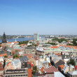 Royalty-Free Stock Photo: Kind to Riga (old city) from a tower