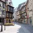 France, Colmar, medieval city - Stock Photo
