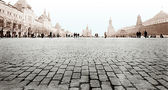 Moscow. A kind on Red Square. — Stock Photo