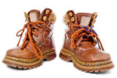 Used children shoes — Stock Photo
