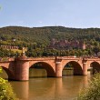 Stock Photo: Old bridge feat. Heidelberg castle