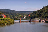 Heidelberg canal lock — Stock Photo