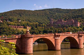 Old bridge and castle — Stock Photo