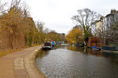 Camden canal — Stock Photo