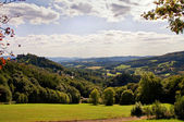 Odenwald view in Lindenfels — Stock Photo
