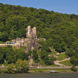 Rheinstein castle in famous rhine valley — Stock Photo