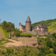 Schoenburg in rhine valley - Stock Photo