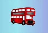Double decker bus — Stock Vector