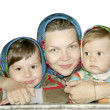 Royalty-Free Stock Photo: Mum\'s daughters